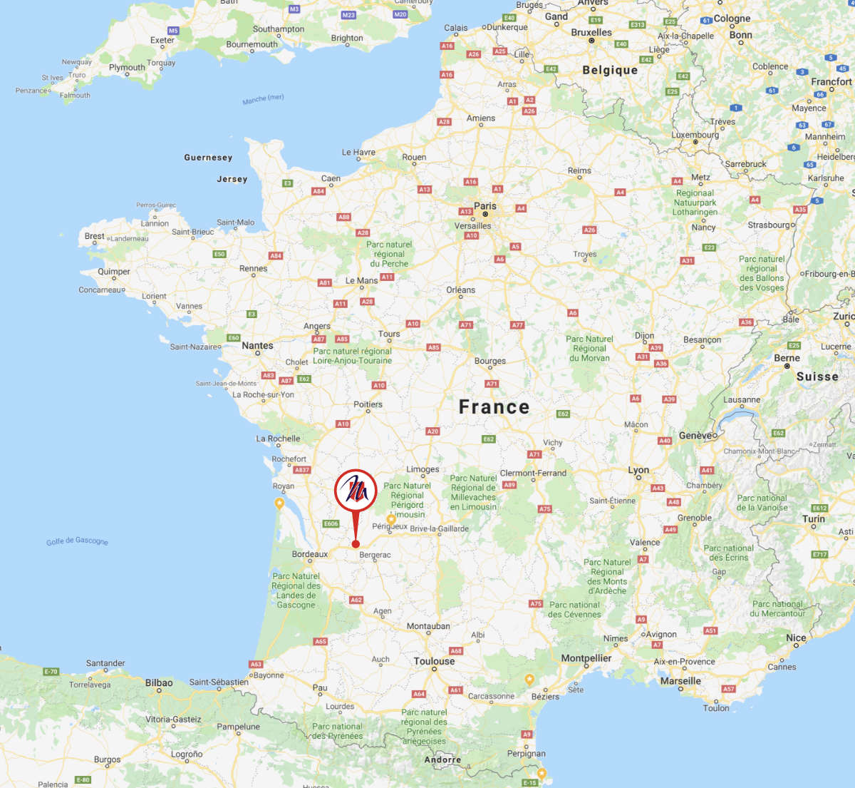 Montpon-Ménestérol en France